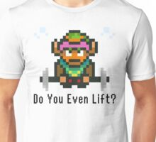 Do You Even Lift? 16-bit Link Edition v2 Unisex T-Shirt