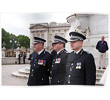 Police At Trooping The Colour Poster