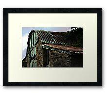 Old Garage Framed Print