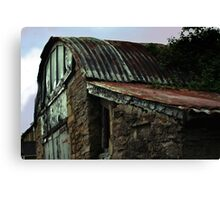 Old Garage Canvas Print