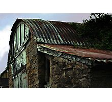Old Garage Photographic Print