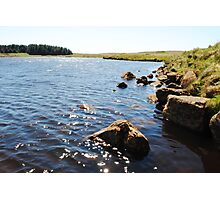 Binevenagh Lake in the sun Photographic Print