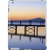 Boardwalk Sunrise iPad Case/Skin