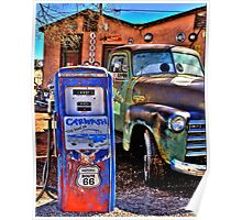 Rustic Route 66 Poster