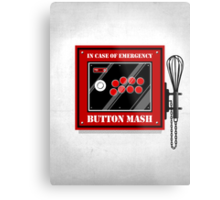 Button Mash Metal Print