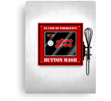 Button Mash Canvas Print