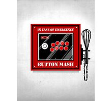 Button Mash Photographic Print