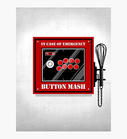 Button Mash Photographic Print