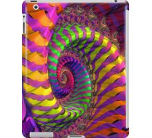Coloured Spiral wheel iPad Case/Skin
