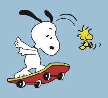 Snoopy Skating by Marianus