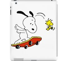 Snoopy Skating iPad Case/Skin
