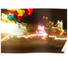 Chaos lights photography Poster