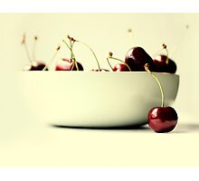 cherries Photographic Print