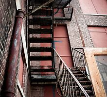 Stairs to Nowhere by BonzaiiPhoto