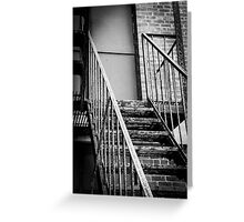 Stairs to Nowhere Greeting Card