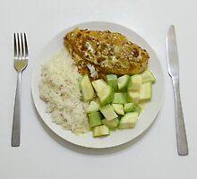 Chicken With Tumeric, Ginger & Crème Fraîche by Michael Redbourn