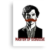 Sherlock Holmes, Master of Disguise Canvas Print