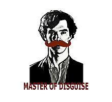 Sherlock Holmes, Master of Disguise Photographic Print