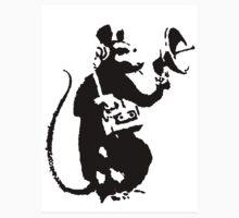 Banksy Mouse Stencil by Rodionlolz