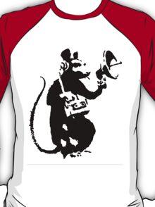 Banksy Mouse Stencil T-Shirt