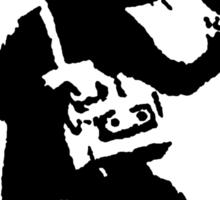 Banksy Mouse Stencil Sticker