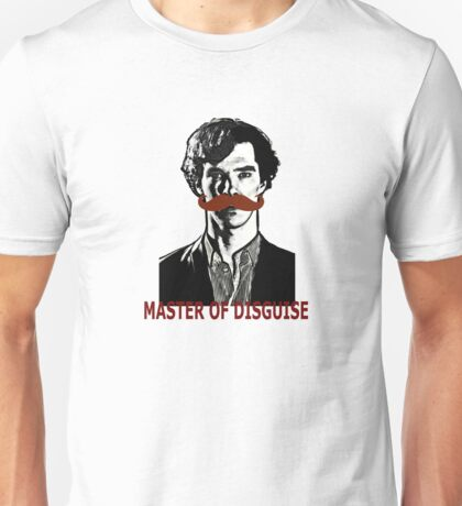 Sherlock Holmes, Master of Disguise Unisex T-Shirt