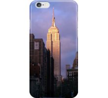 Empire State at Sunset iPhone Case/Skin