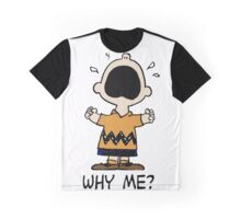 Why Me Charlie Graphic T-Shirt