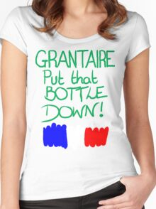 Grantaire, put that bottle down! Women's Fitted Scoop T-Shirt