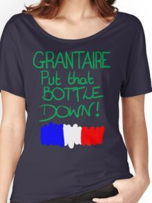 Grantaire, put that bottle down! Women's Relaxed Fit T-Shirt