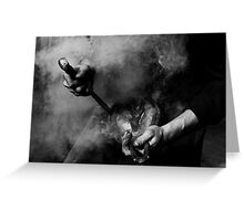 Farrier Greeting Card