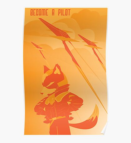Become a Arwing pilot Poster