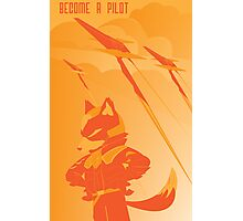 Become a Arwing pilot Photographic Print