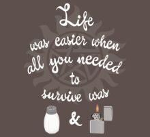 Life with salt and fire. (Dark) by JudithzzYuko