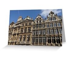 Postcard from Brussels  Greeting Card