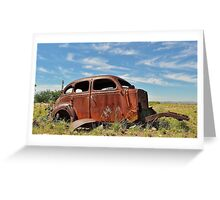 Russet rest Greeting Card