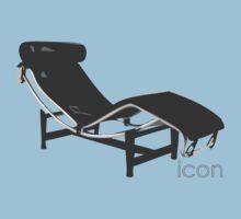 Le Corbusier Chaise-Longue One Piece - Short Sleeve
