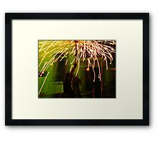 Party time on the streets Framed Print