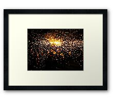 Party on the streets Framed Print