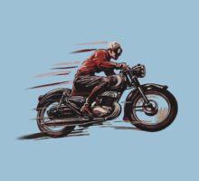 VINTAGE MOTORCYCLE ART Kids Tee