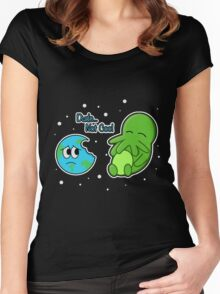Cthulhu… Not Cool Women's Fitted Scoop T-Shirt