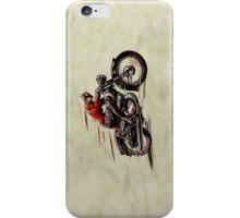 VINTAGE MOTORCYCLE ART iPhone Case/Skin