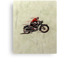 VINTAGE MOTORCYCLE ART Canvas Print
