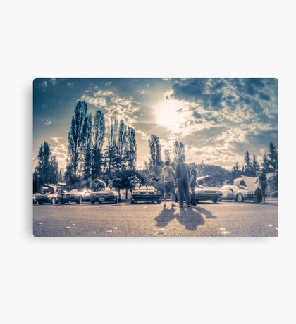 Back to the Days of Future Past Metal Print