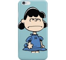 Angry Lucy iPhone Case/Skin