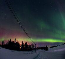 Magical Aurora Borealis by Juuso Hämäläinen