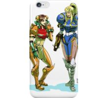 Metroid prime X street Fighter iPhone Case/Skin