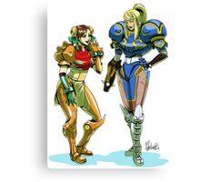 Metroid prime X street Fighter Canvas Print