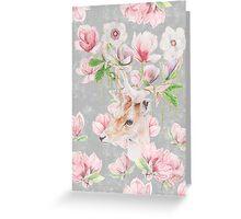 Deer & Magnolia's Greeting Card