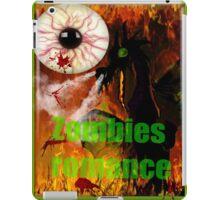 zombies romance iPad Case/Skin